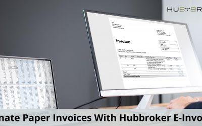 Eliminate Paper Invoices With Hubbroker E-Invoicing